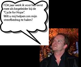 Cycle for hope doet u ook mee?